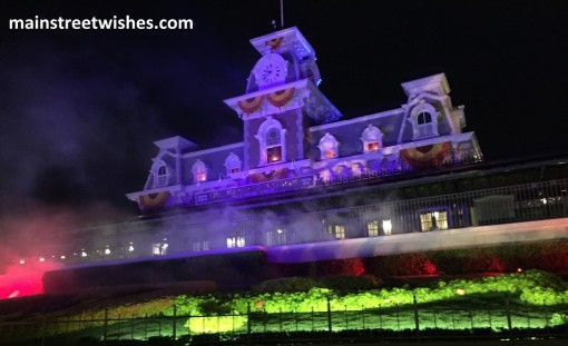 Halloween Party Train Station