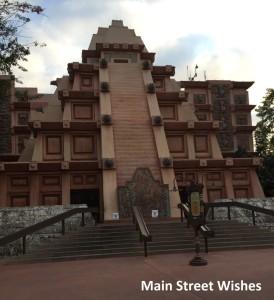 Mexico Pavilion Pyramid
