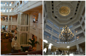 Grand Floridian Lobby Collage