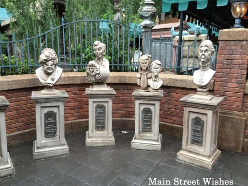 Haunted Mansion Queue Line