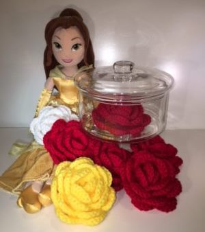belle and roses