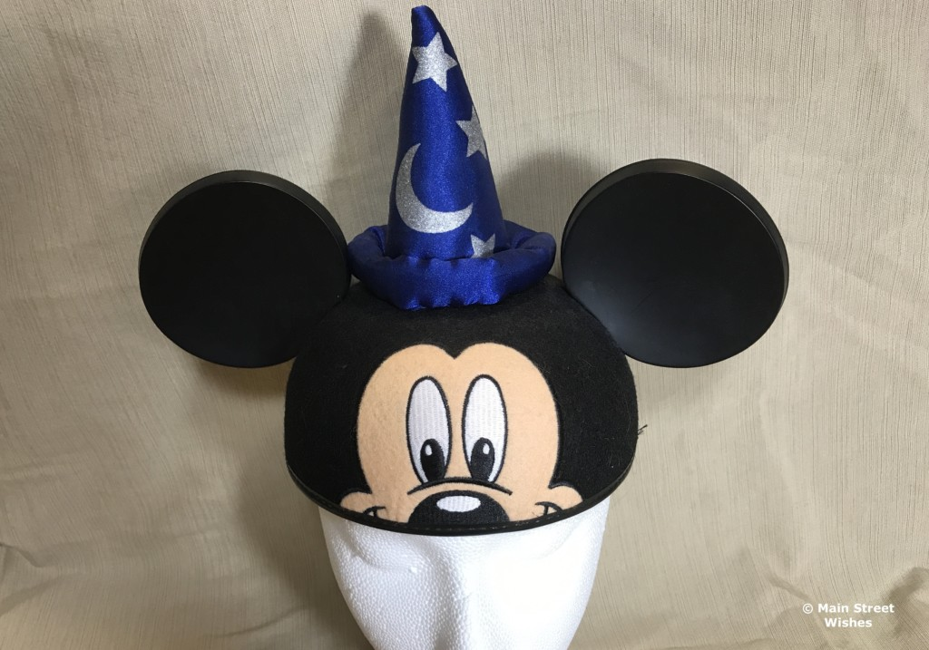 DISNEY THEME PARKS MICKEY MOUSE EARS SORCERER PLUSH WIZARD HAT MOON /& STARS NEW