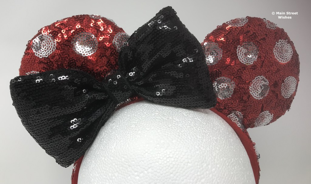 Most of the Minnie Ear Headbands have the bow centered in the middle 4750f2d22d16