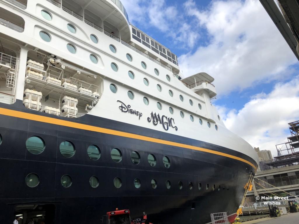Disney Magic Disney Cruise Line Main Street Wishes