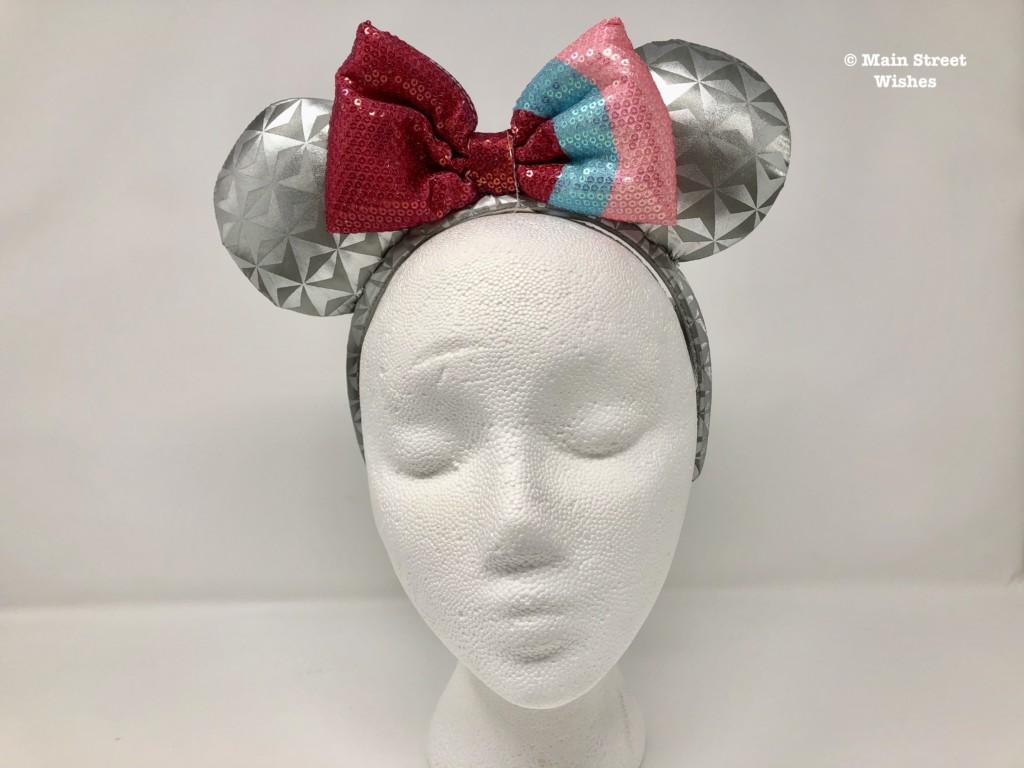 Disney Epcot Bubblegum Wall Minnie Mouse Ear Headband for Adults