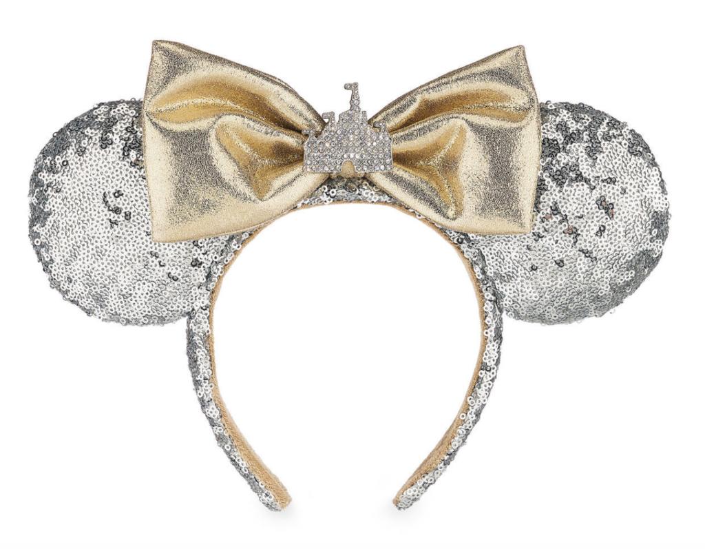 Disney Parks Minnie Mouse Castle Ears Headband with Bow NEW 2019